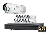 4k 12 camera security system