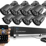 8 channel security system amcrest brand