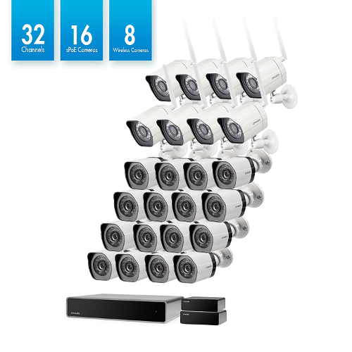 32 channel zmodo security system