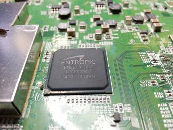 moder ball array mounted ic processor
