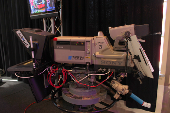 camera recording for interlaced broadcast