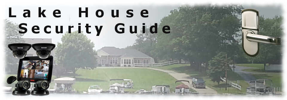 how to secure a lake house banner