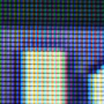 Pixels in an LCD panel.