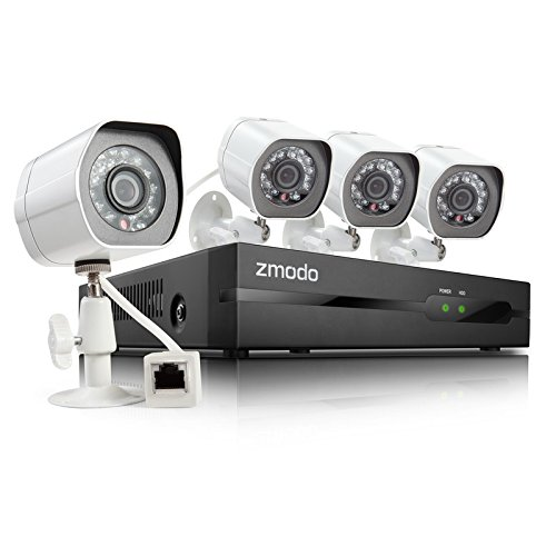 Zmodo 4 channel security system with nvr