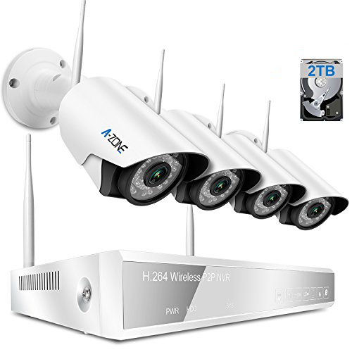 a-zone wireless 4 channel security system
