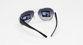 spy glasses with monitor lenses
